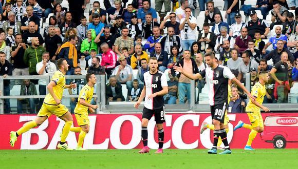 Mira el insólito gol que le marcaron a Juventus: penal errado, dos postes y 'bombazo' al ángulo. (Foto: Reuters)
