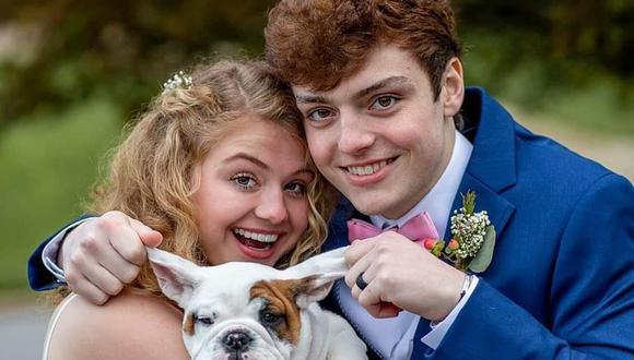 Chase y Sadie el día de su matrimonio. (Foto: Marci and Christy Photography | Facebook)
