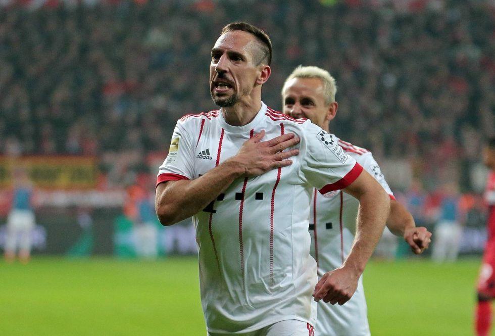Frank Ribery al Sheffield United. (Foto: AFP)