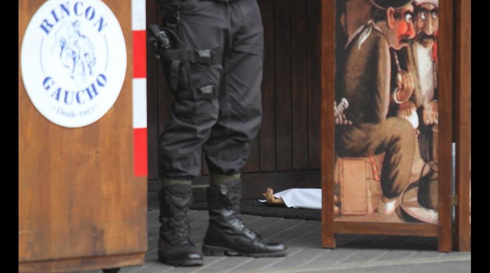 Asesinato en Barranco: la escena del crimen en el Rincón Gaucho - 1