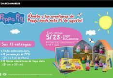 PEPPA PIG, tus personajes favoritos de tu serie infantil.