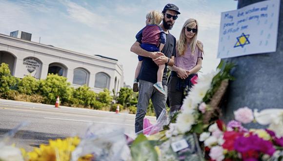 Poway | Tiroteo en Estados Unidos renueva debate sobre los delitos de odio y la respuesta política. (AFP)