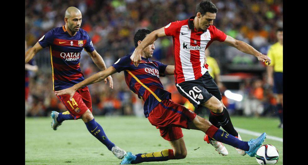 Barcelona: la dura marca del Athletic para detener a culés - 13