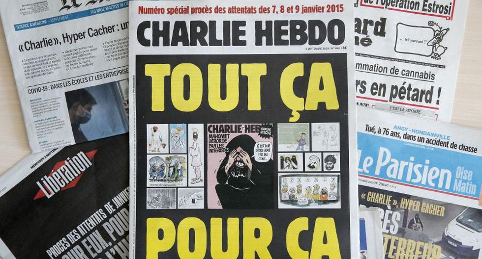 """El desafío sigue en pie: así salió """"Charlie Hebdo"""" en Francia esta semana. (Foto: EFE / EPA / YOAN VALAT)"""