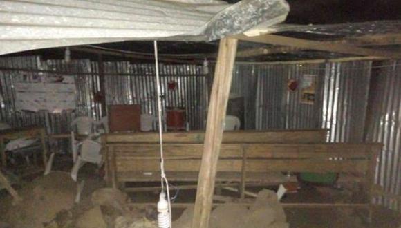Huánuco: 9 muertos y 10 heridos deja caída de una pared de templo evangélico