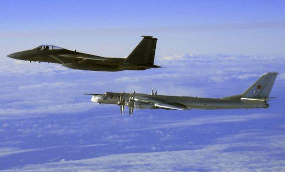 EE.UU. intercepta dos bombarderos rusos cerca de Alaska