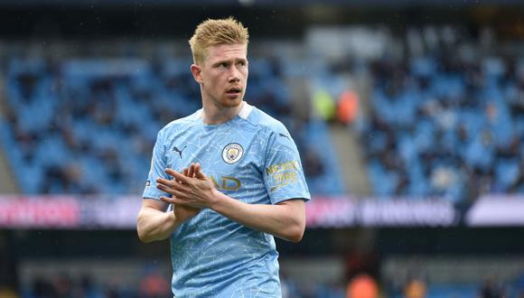 Kevin De Bruyne dio sus expectativas sobre la final entre Manchester City vs. Chelsea   Foto: REUTERS