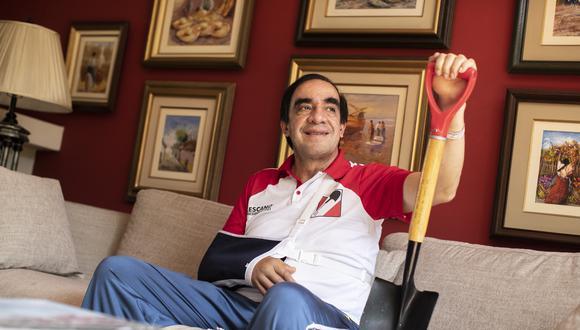 """""""Con mis leyes, muchos de los peruanos han comenzado a vivir mejor"""", asegura. (Foto: César Campos / GEC)"""