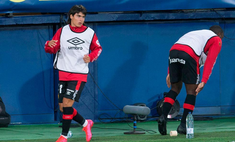 Quebró el récord de Sansón: Luka Romero se convirtió en el debutante más joven en la historia de LaLiga | Foto: EFE