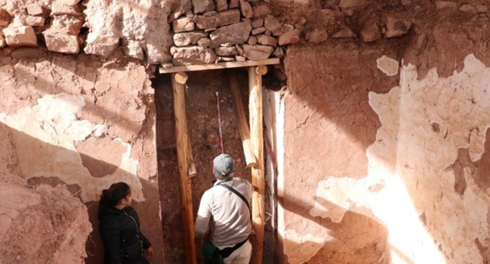 Cusco: Según estudios, en el año 950 d.C. un terremoto de 6.5 grados y un huaico habrían obligado a la civilización Wari a abandonar la zona que hoy se conoce como el Parque Arqueológico de Pikillaqta, en el valle del Cusco. (Foto Ingemmet)
