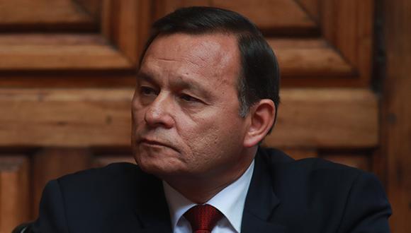 El canciller Néstor Popolizio, se presentará el lunes 1 de abril del 2019 a las 11:15 am en el Hemiciclo Raúl Porras Barrenechea del Congreso de la República. (Foto: GEC)