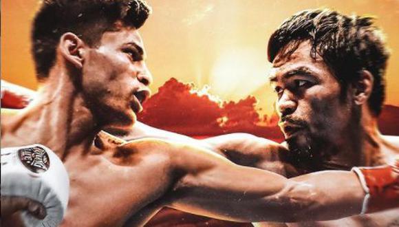 A sus 42 años, Manny Pacquiao no sube al ring desde que reclamó la corona de peso welter de la AMB (Asociación Mundial de Boxeo) con una victoria sobre Keith Thurman en Las Vegas, en julio de 2019. (Foto: IG Ryan García)