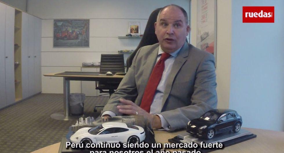 Qué piensa el presidente de Porsche Latinoamérica sobre el Perú