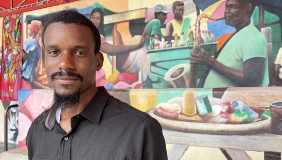 Jean Dondy Cidelca es un joven arquitecto de Little Haiti que se está abriendo camino en Miami. (CARLOS SERRANO)