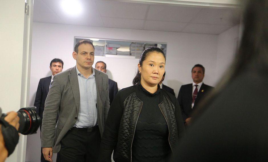 Keiko Fujimori deberá ser trasladada a una prisión tras decisión del juez Richard Concepción Carhuancho (Foto: EFE)