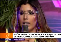 Yahaira Plasencia y su inesperada reacción al nombrar a Jefferson Farfán