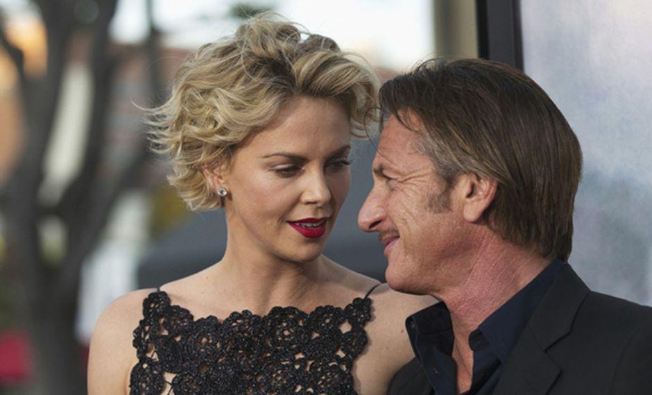 "Charlize Theron: ""Soy inmensamente feliz con Sean Penn"""