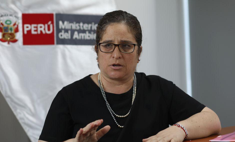 Ministra Lucía Ruiz destacó la importancia de este reglamento. (Foto: GEC)