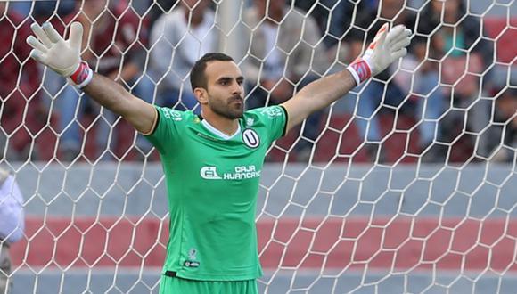 José Carvallo quiere igualar el récord del jugador con el arco invicto por más tiempo. (Foto. Archivo GEC)