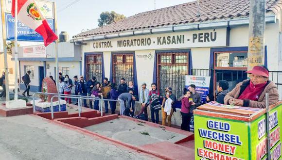 Salida de venezolanos se incrementa en más de 130% por frontera de Puno con Bolivia