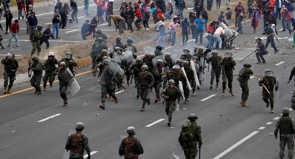 Una persona murió el domingo en Ecuador al ser atropellada por un vehículo durante protestas contra el fuerte aumento de los precios del combustible. (Referencial Reuters)