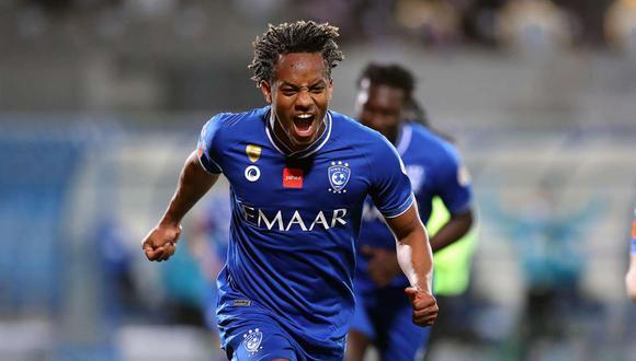 André Carrillo se quedará en Al Hilal, confirmó el presidente del club. (Foto: EFE)
