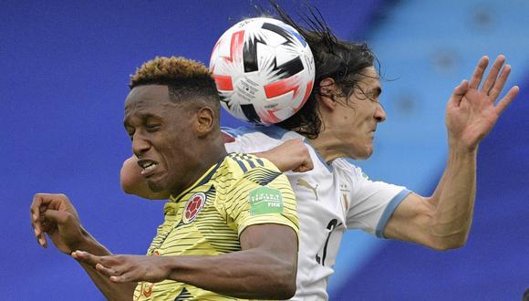 Colombia y Uruguay chocan este sábado por los cuartos de final de la Copa América (Foto: AFP)