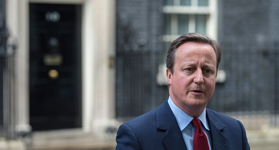 El exprimer ministro, David Cameron. (AFP)