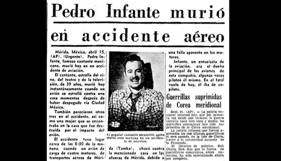 Pedro Infante murió hace 60 años - 1