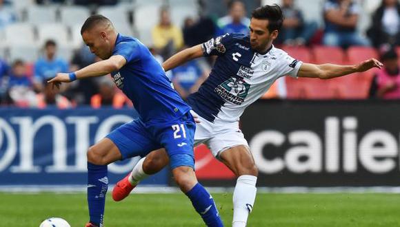 Cruz Azul, Pachuca, Puebla y Santos Laguna son los semifinalistas del Clausura 2021 de Liga MX. (Foto: AFP)