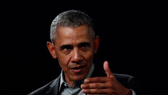 """El racismo no puede ser """"normal"""" en Estados Unidos, dice Barack Obama sobre la muerte de George Floyd. (Foto: John MACDOUGALL / AFP)."""