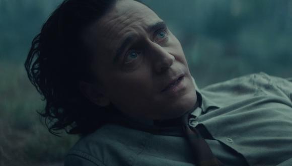 Loki (Tom Hiddleston), en los minutos finales del cuarto episodio de su serie. Foto: Marvel Studios.