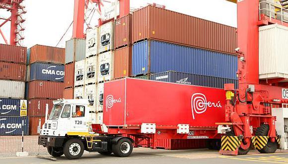 En julio, las exportaciones peruanas aumentaron 17.3% interanual al sumar US$4,028 millones, según datos del BCR. (Foto: El Comercio)