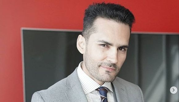 Fabián Ríos regresa a las pantallas de Telemundo con un personaje super distinto al de 'Albeiro' (Foto: Telemundo)