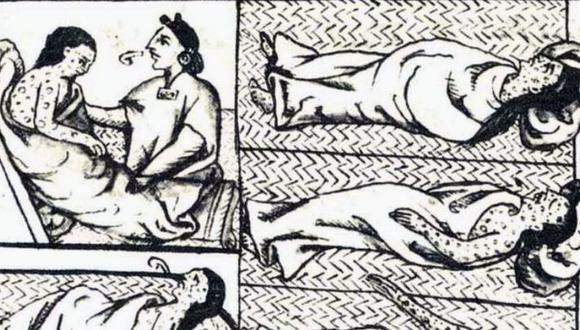 Los indígenas del centro de México sufrieron una mortal epidemia de viruela en 1520. (CÓDICE FLORENTINO/UNAM).