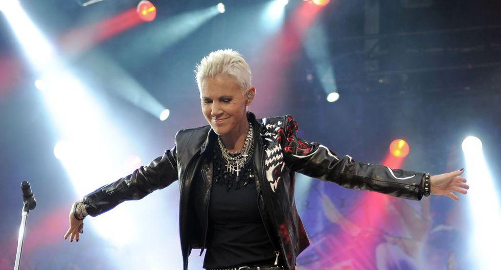 Marie Fredriksson regresó a los escenarios en 2009, tras siete años de recuperación después de que se le encontrar un tumor cancerígeno en el cerebro. La cantante de Roxette falleció el 9 de diciembre a los 61 años. (Foto: AFP)