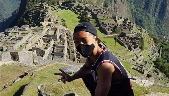 Jesse Katayama esperó pacientemente siete meses para ingresar a Machu Picchu. (Foto: Facebook)