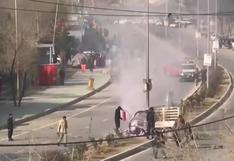 Mortal ataque con cohetes en el centro de Kabul