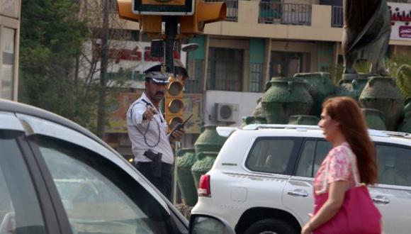 ¿Por qué le puede costar caro a un policía aplicar la ley en Iraq? (Foto: AFP)