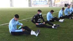 Gómez y De Arrascaeta se sumaron a los trabajos de Uruguay para Copa América