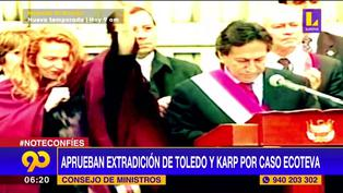 Alejandro Toledo y Eliane Karp: aprueban extradición por caso Ecoteva