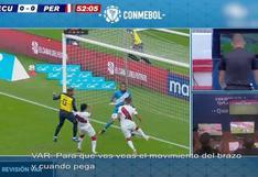 Conmebol reveló el audio del VAR en la supuesta mano de Abram en el Perú vs. Ecuador | VIDEO