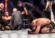 UFC 254: Khabib Nurmagomedov rompió en llanto al recordar a su padre luego de vencer a Gaethje | VIDEO