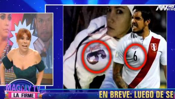 Magaly Medina arremetió contra Tilsa Lozano. (Imagen: ATV)