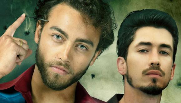 """Sebastián Osorio y Juan Pablo Urrego son los protagonistas de """"El Cartel de los Sapos: El origen"""" (Foto: Caracol TV / Netflix)"""