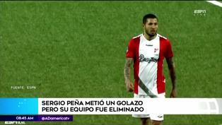 Sergio Peña anotó un golazo con el FC Emmen