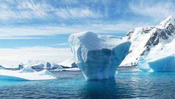 Un iceberg en el Ártico. (Imagen referencial: Pixabay)