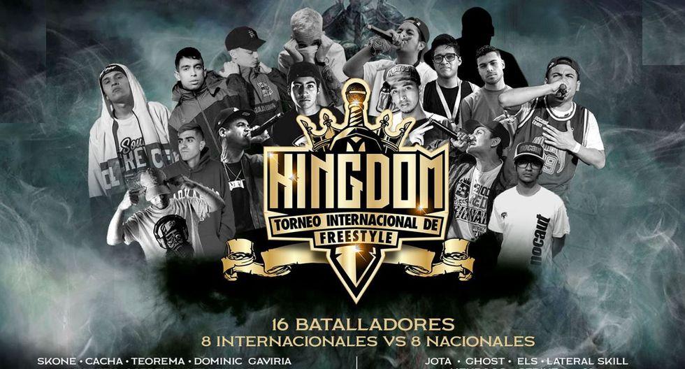 Kingdom 2019: este domingo se realizará el evento internacional de freestyle en el Barranco Arena. (Foto: Kingdom Prensa)