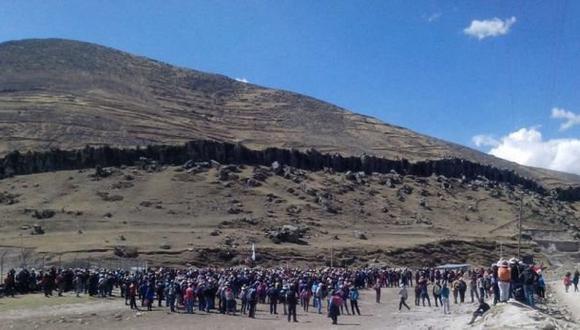 Apurímac: alistan otro paro contra proyecto minero Las Bambas