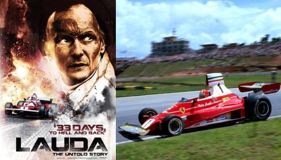 Lanzarán documental sobre el accidente de Niki Lauda en 1976